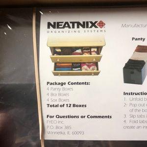 Accessories - Neatnix Bra panty Sox organizer for drawer NEW